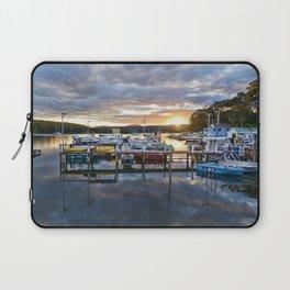 Narooma Marina Sunset Laptop Sleeve
