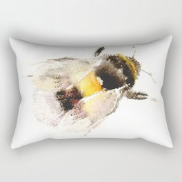 Bumblebee, fuzzy bee Rectangular Pillow