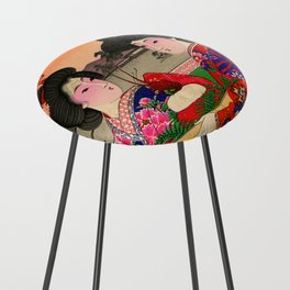Two Geishas Counter Stool