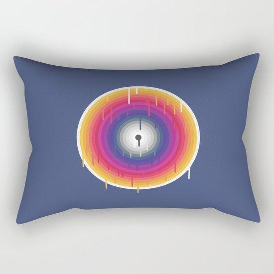Core Meltdown Rectangular Pillow