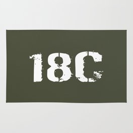 18C Special Forces Engineer Rug