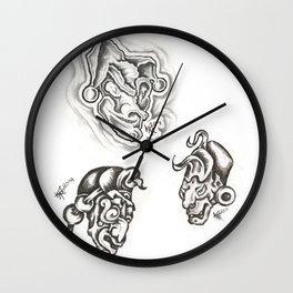 Flash Sheet 0011 Wall Clock