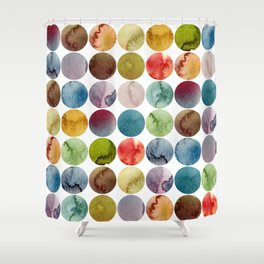 Paint pattern Shower Curtain