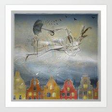 Rain Ballad Art Print