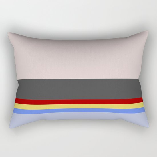 Wesley Crush er - Minimalist Star Trek TNG The Next Generation - 1701 D - startrek - Trektangles Rectangular Pillow