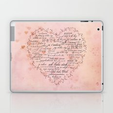 I Love You in different languages Laptop & iPad Skin