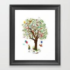 Algarrobo Tree Framed Art Print