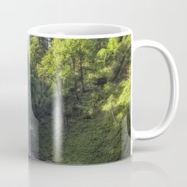 Behind South Falls Coffee Mug