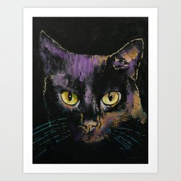 Shadow Cat Art Print