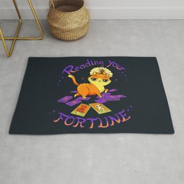 Reading Your Fortune Rug