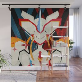 Darling in the FranXX - Hiro and Zero Two Wall Mural
