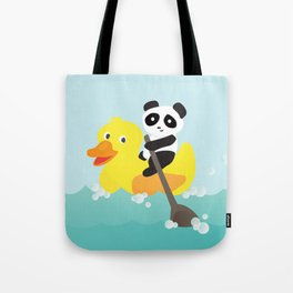 Row, row, row your duck Tote Bag