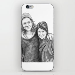 Anne Cox and Harry Styles iPhone Skin