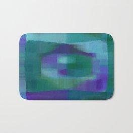 Blue#1 Bath Mat