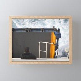 Naxosferry 3 Framed Mini Art Print