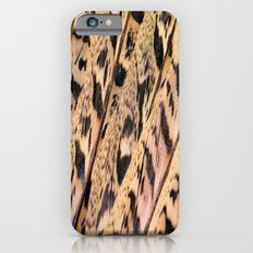 Pheasant Feathers Abstract iPhone 6 Slim Case