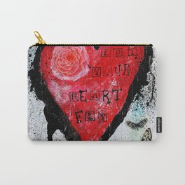 Let Your Heart Fly Carry-All Pouch