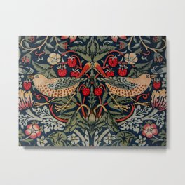 Strawberry Thief William Morris Metal Print