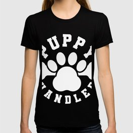 Mens Puppy Handler T-Shirt Gay Puppy Play Tshirt T-shirt