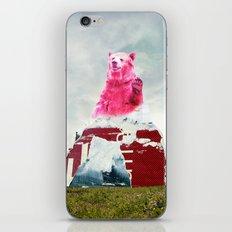 Bear Salute iPhone & iPod Skin