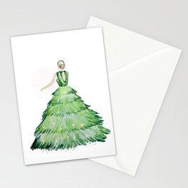 Christmas Lady Stationery Cards