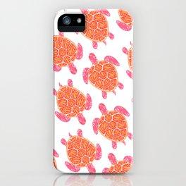 Sea Turtle – Melon Palette iPhone Case