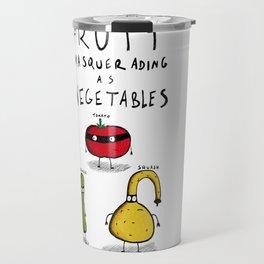 Fruit Masquerading as Vegetables Travel Mug