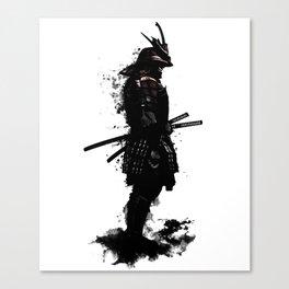Armored Samurai Canvas Print