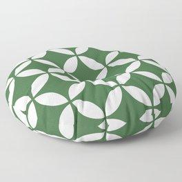 Palm Springs Screen: Kelly Green Floor Pillow