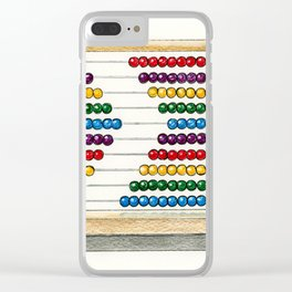 Count On Me Clear iPhone Case