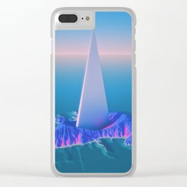 Caribbean Vision Clear iPhone Case