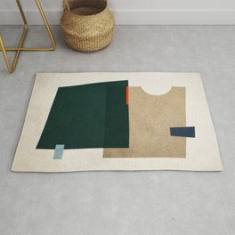 Textured Shapes 11 Rug