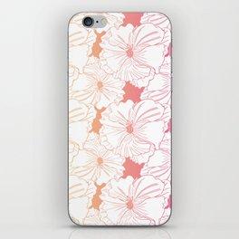 Happy Hibiscus iPhone Skin
