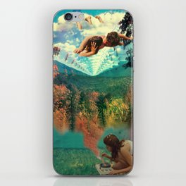 'Amour Fou. She wanted love, love, crazy love' iPhone Skin