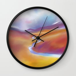 Moors and Mountains Wall Clock