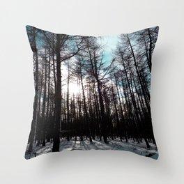 Forest #1 Throw Pillow