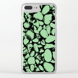 Stones (threshold look) Clear iPhone Case