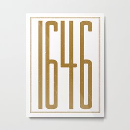 1646 (alt color) Metal Print