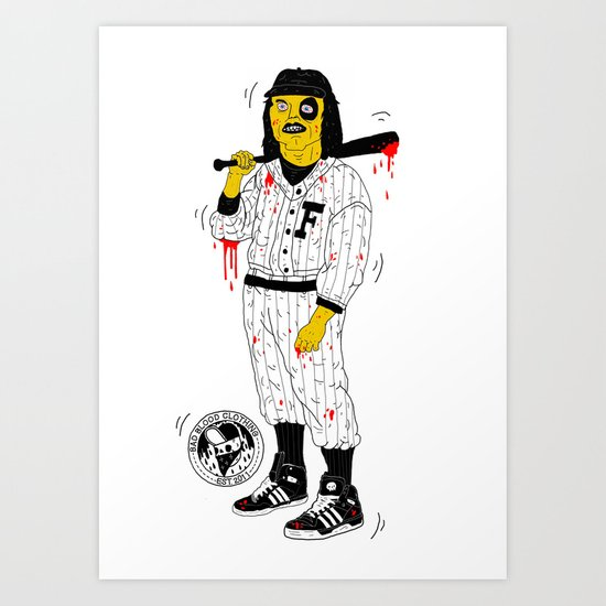 Baseball Furies Art Print