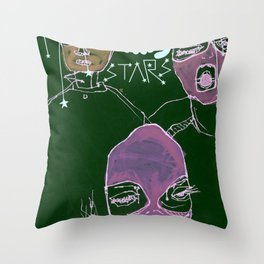 shooting stars an the rebels. Throw Pillow