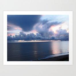 Monreith Sunset Art Print