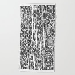 DASH - Poetry of the Pen Series by Cooper & Colleen Beach Towel