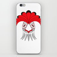 cock iPhone & iPod Skins featuring Cock by HandeAylan