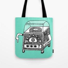 hungry jukebox Tote Bag