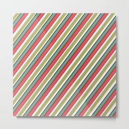 Striped pattern 10 Metal Print