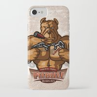 pitbull iPhone & iPod Cases featuring PITBULL RIDERS by gtrullas