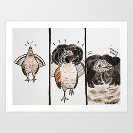 Bird no. 136: Hey Good Lookin' Art Print