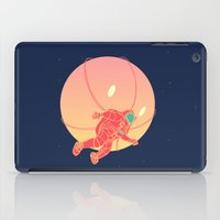 astronaut iPad Cases featuring Astronaut by chyworks