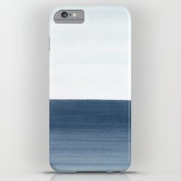 Ocean Watercolor Painting No.1 iPhone Case