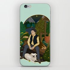 Cabin by the lake  iPhone & iPod Skin